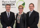 Plant & Food Research host Primary Industry Officials